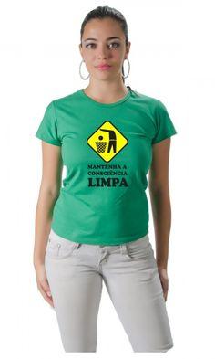 Camisetas da Rua