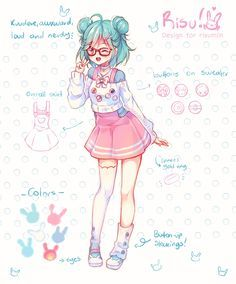 20+ Fantastic Ideas Anime Girl Drawing Colored Full Body