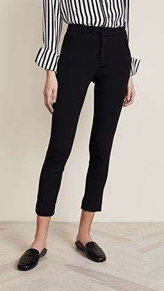 online shopping for McGuire Denim Lou Lou Slim Trousers from top store. See new offer for McGuire Denim Lou Lou Slim Trousers Gym Pants, Skinny Pants, Luxe Clothing, Kick Flare Jeans, Trousers Women, Cropped Jeans, Shirt Sleeves, Personal Style, Slim