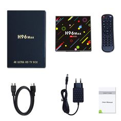 H96 H2 MAX RK3328 4GB RAM 64GB ROM 5G WIFI Bluetooth 4.0 USB3.0 Android 7.1 TV Box with Time Display 4k Ultra Hd Tvs, 4gb Ram, Photography Camera, St Kitts And Nevis, Wifi, Bluetooth, Android, Display, Electronics