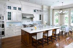 Brian Gluckstein Design - traditional - kitchen - toronto - Brandon Barré Photography