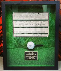 how to frame a hole in one ball - Bing ImagesI need to make this for kurt for christmas.