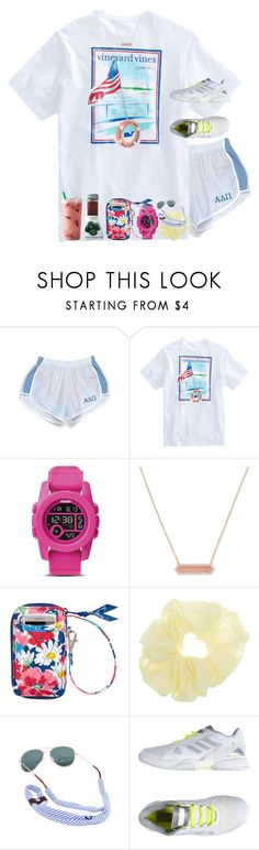 """""""Gods great love"""" by livnewell ❤ liked on Polyvore featuring Nixon, Vera Bradley and adidas"""