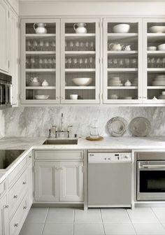 muted neutral color scheme in kitchen