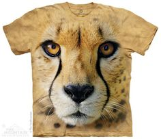 The Mountain Smithsonian T-shirt | Big Face Cheetah