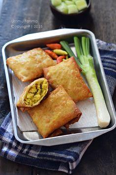Simply Cooking and Baking...: Martabak Kulit Pangsit Isi Tahu