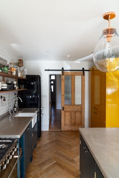 Home Tour: Tiny & The House - The Frugality Victorian Terrace Interior, Victorian Kitchen, Kitchen Interior, Kitchen Design, Tiny Dining Rooms, The Frugality, Home Kitchens, Small Kitchens, Home Decor Inspiration
