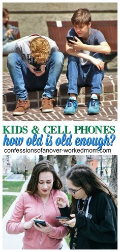 What is the Right Age to Give Your Child a Cell Phone?