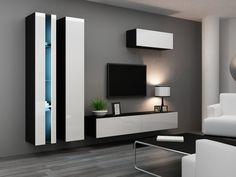 HIGH GLOSS TV CABINET / TV WALL UNIT / TV STAND 'VIVA NEW 1 ' | eBay