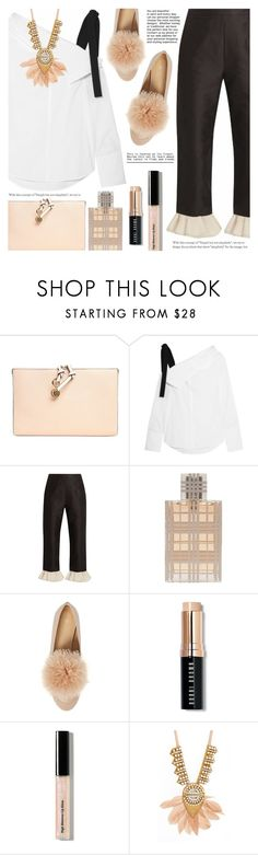 """#PolyPresents: New Year's Resolutions"" by a-a-nica ❤ liked on Polyvore featuring Chloé, Proenza Schouler, Isa Arfen, Burberry, Bobbi Brown Cosmetics, Sandy Hyun, contestentry and polyPresents"