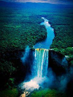 Kaieteur Falls - Guyana, South America.
