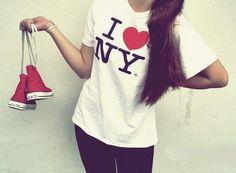 Just add kicks #NYCLove