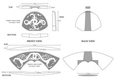 Knotwork Sword Hilt for Printing Viking Pattern, Sword Hilt, Viking Sword, Blacksmith Tools, Sword Design, 3d Printing, Blacksmithing, Weapons, Give It To Me