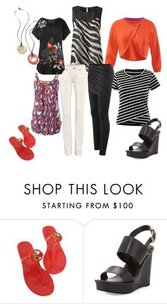 """""""Cabi 2016"""" by ashley-kafka on Polyvore featuring CAbi, Tory Burch, women's clothing, women, female, woman, misses and juniors"""