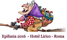 #Epifania a #Roma- La Befana quest'anno porta con se i Saldi dello Shopping il 5 gennaio. Soggiorna all'Hotel Lirico a partire da 54€ a notte