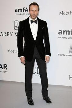 """Let Tom Ford show you how to wear a velvet dinner jacket - GQ.co.uk"""