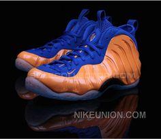 To commemorate his devotion to New York City, Nike crafted this custom Foamposite  One, dubbed