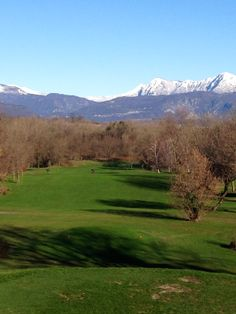 Hole 1 at the Golf Club Udine, Fagagna - Italy
