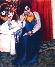 Reading girl in white and yellow, 1919 / Henri Matisse