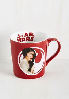 The Em-Pourer Strikes Back Mug in Leia