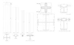 pilares Mies Van der Rohe