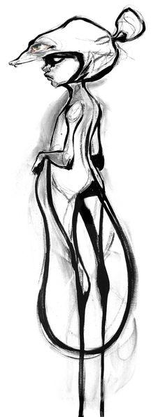 herakut black and white