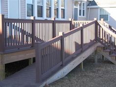 Composite Deck with ADA Accessible Ramp for Head Start in Springdale