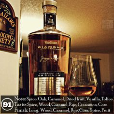 A fine tribute to Jimmy Russell's 60 years Bourbon Liquor, Bourbon Whiskey, Scotch Whisky, Geek Birthday, 30th Birthday, Whiskey Bottle, Vodka Bottle, Whiskey Trail, 21st Birthday Checklist