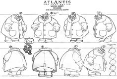 Film: Atlantis: The Lost Empire ===== Character: Gaetan Moliere