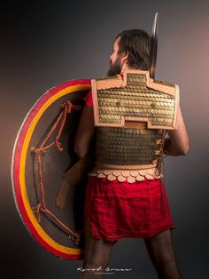 Ancient greek armor made by our members.