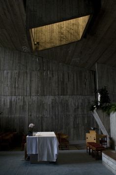 KAGADATO selection. The best in the world. Loft interiors design. **************************************Kapel O.L.V. van Kerselare – Juliaan Lampens Arch.