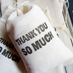 Thank You Gift Bags - Set of 12