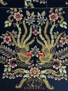 Batik Tulis Pekalongan KA-BAT-PK-W-2685 – Engrasia Batik Pattern, Pattern Art, Pattern Design, Batik Art, Batik Prints, Blue Design, Design Art, Batik Solo, Batik Fashion