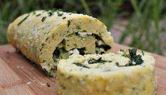 Savoury Cheese Roulade