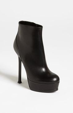 I love these for fall...Saint Laurent 'Tribute Two' Bootie available at #Nordstrom