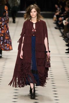 Burberry Prorsum- How can I get me one of these?!  Fall Fashion Week 2015