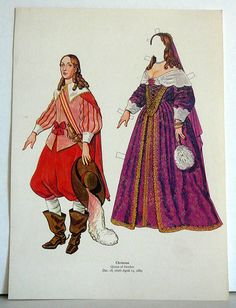Vintage Uncut Paper Dolls Christina Queen of by EvelynnsAlcove, $4.50