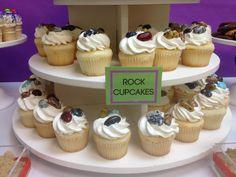 Rock cupcakes