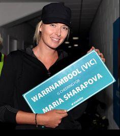 #Sharapova for Australian Open 2015