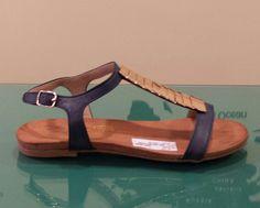 Sandalia piel marino