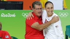 USA women's #basketball and  former Gulliver Prep student-athlete Syliva Fowles thumps Spain, wins sixth straight gold medal | NBC #Olympics