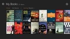 Kindle Books // Read Kindle books on a beautiful, easy-to-use Windows 8 application. You'll have access to over 1 million* books in the Kindle Store, including best sellers and new releases. Amazon's Whispersync technology automatically syncs your furthest page read, bookmarks, notes, and highlights across all your devices that have the Kindle app installed and across any Kindle device. That means you can start reading on one device and pick up where you left off on another device.