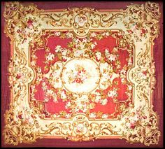 "European 15' 0"" x 13' 3"" Antique Aubusson at Persian Gallery New York - Antique Decorative Carpets & Period Tapestries"