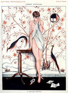 La Vie Parisienne 1920s Illustration by Fabien Fabiano  http://www.pinterest.com/adisavoiaditrev/