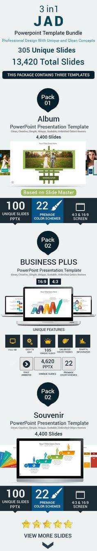 3 in 1 JAD PowerPoint Template Bundle #design Download: http://graphicriver.net/item/3-in-1-jad-powerpoint-template-bundle/11532331?ref=ksioks