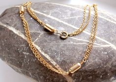 Goldtone Chain Choker - Vintage by ReTainReUse on Etsy