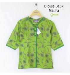 Blouse Batik Mahila Green
