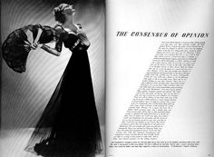 Alexei Brodovich, editorial design at Harper's Bazaar, 1940-1950.