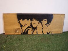 The Supremes wood by AlexColejr on Etsy https://www.etsy.com/listing/209834116/the-supremes-wood?