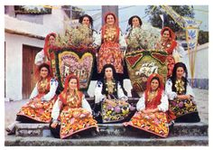 Dressed for the feast of the roses, Viana do Castelo, Portugal